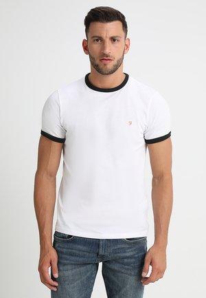 GROVES - Jednoduché triko - white