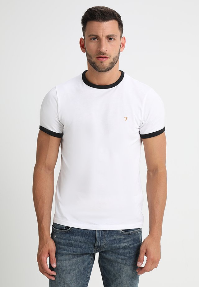 GROVES - T-shirt - bas - white