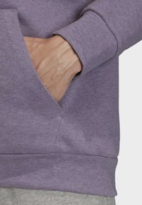 adidas Performance - MUST HAVES STADIUM HOODIE - Hættetrøjer - purple melange - 6
