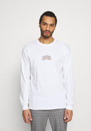 MENNACE ORIENTAL TIGER TEE - Long sleeved top - white