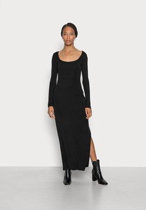 CHANTAL DRESS - Maxi dress - jet black