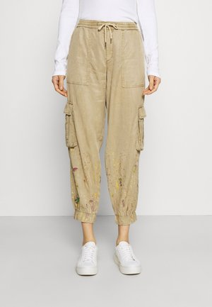 PANT BABEL - Cargo trousers - beige