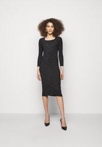 LIU JO - ABITO MAGLIA - Shift dress - black - 0
