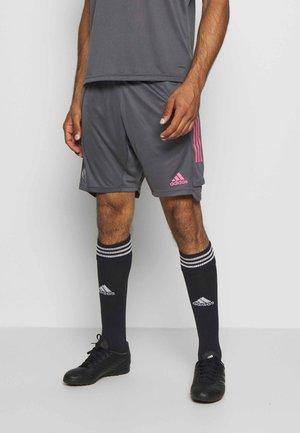 REAL MADRID AEROREADY FOOTBALL SHORTS - Pantaloncini sportivi - grey