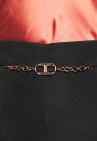 Elisabetta Franchi - WOMEN'S PANT'S - Trousers - black - 5