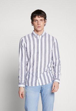 JJESUMMER - Shirt - mottled blue