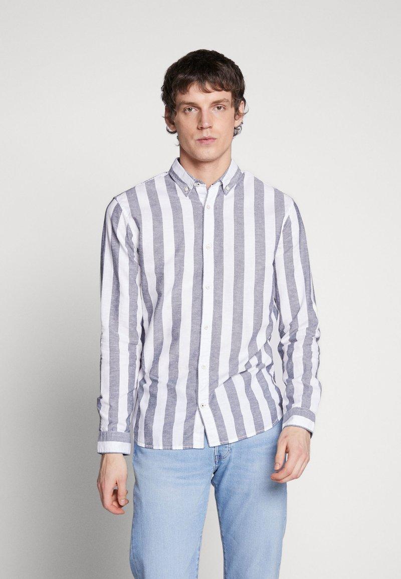 Jack & Jones - JJESUMMER - Shirt - mottled blue