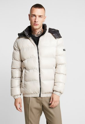 MATT PUFFER JACKET - Winter jacket - stone
