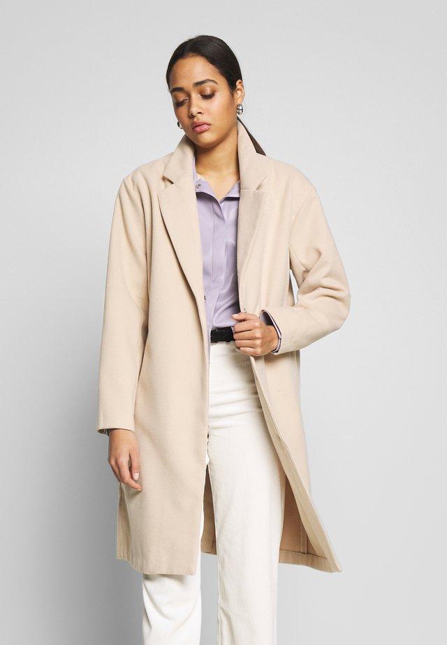 EASY STRAIGHT COAT - Zimní kabát - beige