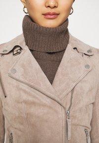 Freaky Nation - SUMMER BIKER PRINCESS - Leather jacket - wood - 5