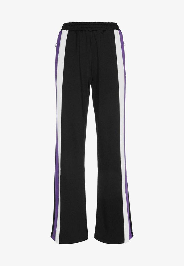 Pantalones deportivos - black/ultra violet