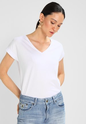 VIDREAMERS V-NECK - T-shirts - optical snow