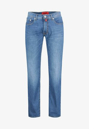 LYON MODERN FIT - Straight leg jeans - darkblue