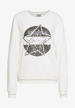 FELPA CHIUSA - Sweatshirts - bianco lana