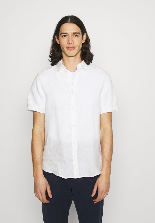 CLASSIC SHORT - Shirt - denim white