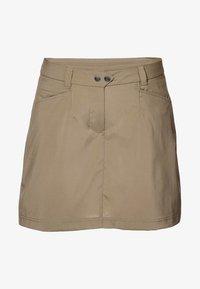 Jack Wolfskin - SONORA SKORT - Sports skirt - sand - 0