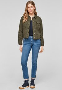 s.Oliver - Denim jacket - khaki - 1