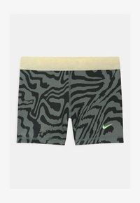 Nike Performance - Leggings - smoke grey/black/coconut milk - 0
