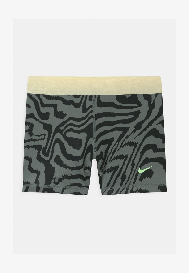 Nike Performance - Leggings - smoke grey/black/coconut milk