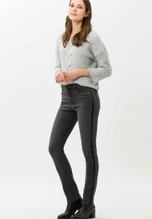 MARY - Slim fit jeans - dark grey