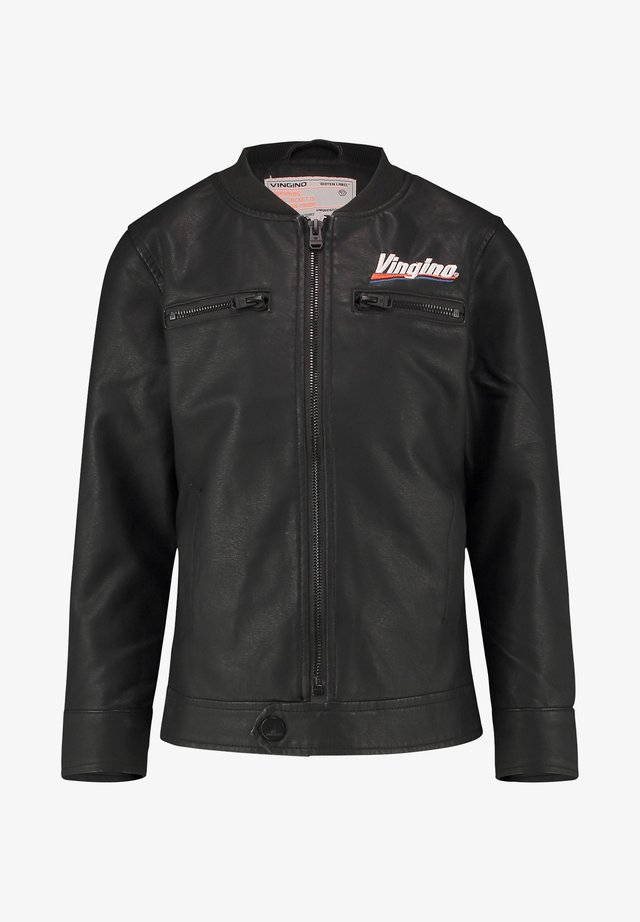 TEMWA  - Faux leather jacket - deep black