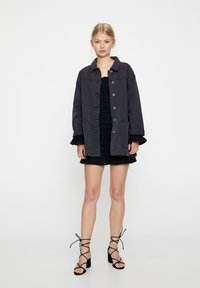 PULL&BEAR - Denim jacket - dark grey - 1