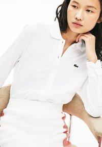 Lacoste - Button-down blouse - white - 3