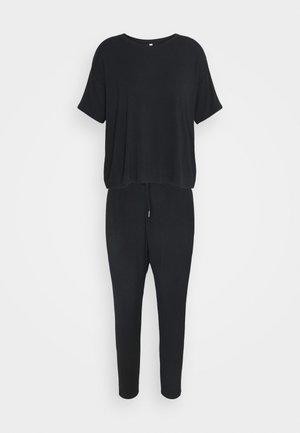 SLEEP RECOVERY CREW  - Pyjamas - black