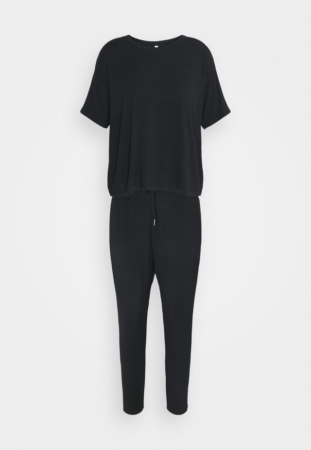SLEEP RECOVERY CREW  - Pyjama - black