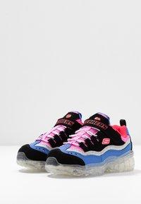 Skechers - ICE D'LITES - Trainers - black/purple/pink/silver - 2