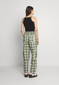 The Ragged Priest - GRANGER - Trousers - green/white - 2