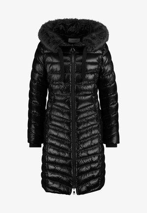 MIT EDLEM GLANZ - Winter coat - schokolade