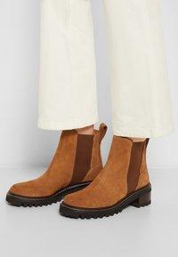 See by Chloé - MALLORY BOOTIE - Kotníkové boty - tan - 3