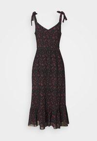 Even&Odd - Day dress - black/red - 4