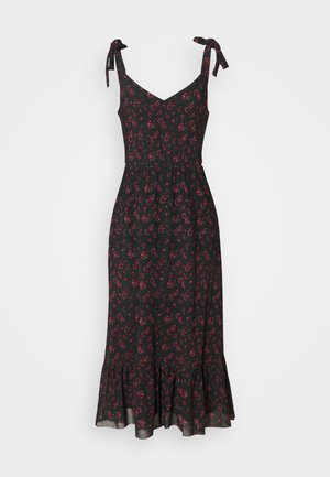 Denní šaty - black/red