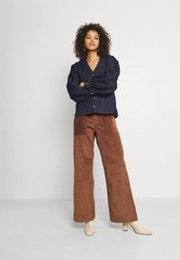 Dedicated - WORKWEAR PANTS VARA - Trousers - friar brown - 1