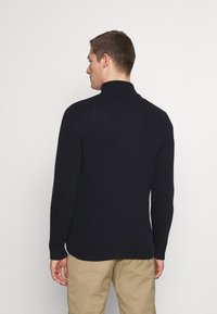 Marc O'Polo - TROYER ZIPPER - Jumper - total eclipse - 2