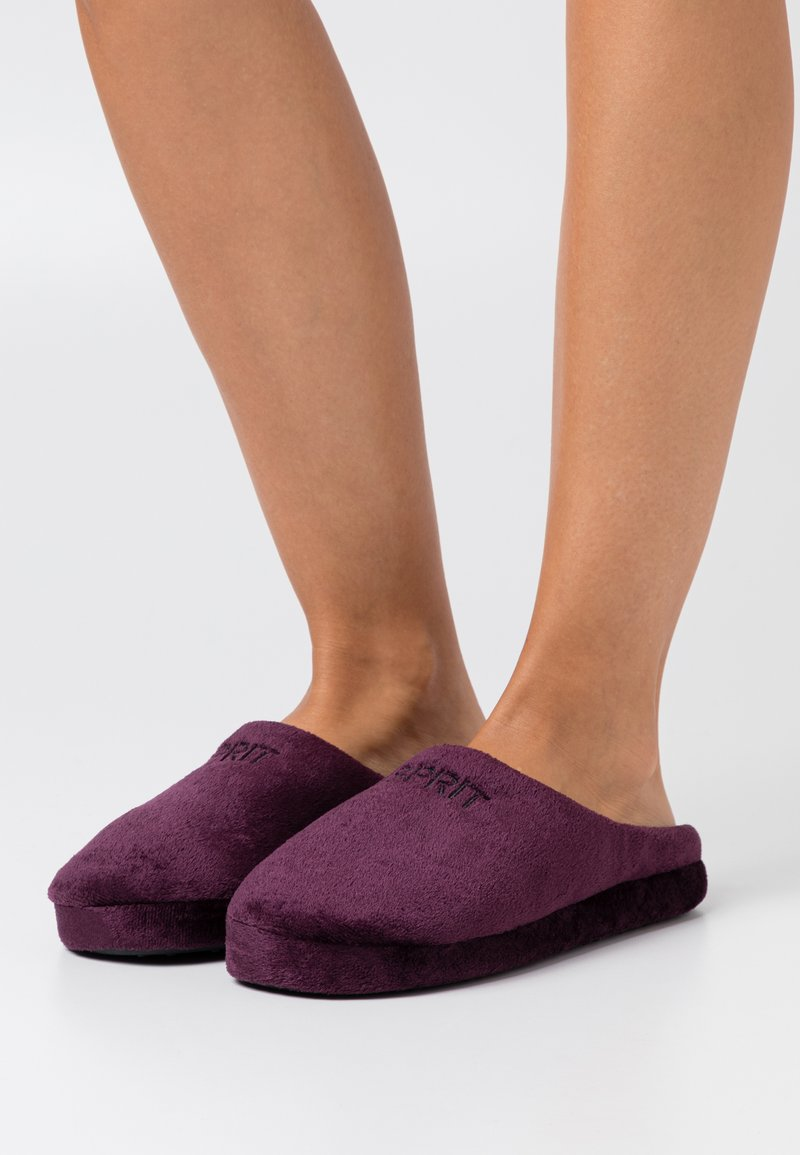 Esprit - BIRMINGHAM - Pantofole - berry purple