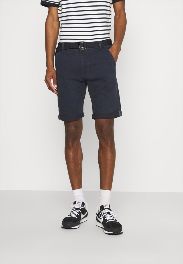 KAISER CHINO EXCLUSIV - Shorts - navy