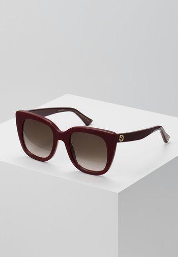 Okulary przeciwsłoneczne - burgundy/brown