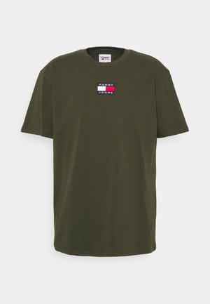 BADGE TEE - T-shirt basic - dark olive