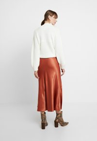 Monki - BAILEY SKIRT - Maxi sukně - rust - 2