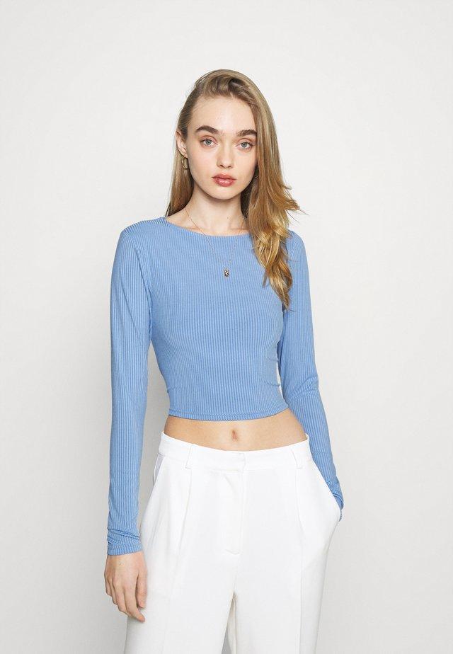 JAYDEN - Camiseta de manga larga - blue