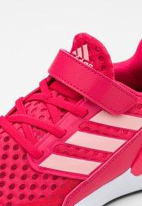 adidas Performance - RAPIDARUN UNISEX - Neutral running shoes - power pink/glory pink/core black - 5