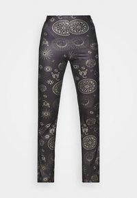 Topshop - ASTROLOGY FLARE - Leggings - Trousers - black - 5