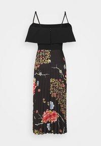 Victoria Victoria Beckham - PLEATED COLD SHOULDER RECYCLED DRESS - Denní šaty - jumbo black - 9