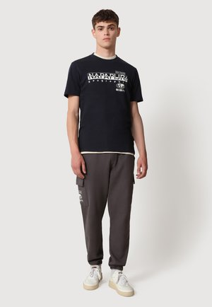 SEB - T-shirt print - blu marine