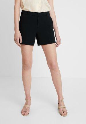 CLEAN CREPE - Shorts - black