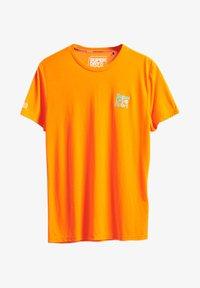 Superdry - T-Shirt print - bright havana orange - 0
