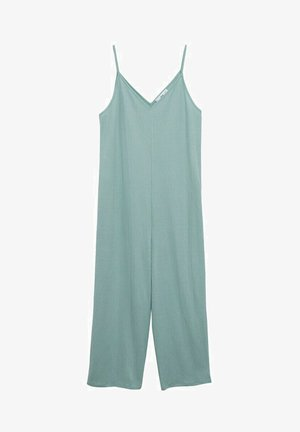 Jumpsuit - aqua green